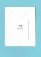 Cartes Parfumées  Carte CHANEL N°5  L'EAU   De  CHANEL - Perfume Cards