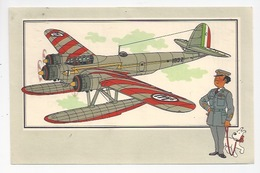CHEQUE TINTIN - HERGE - VOIR ET SAVOIR - AVIATION, AVION CANT Z-507 HERON 1936 ITALIE - GUERRE 1939-45 - SERIE 3  -  N°5 - Bandes Dessinées