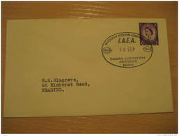 NUCLEAR FUSION CONFERENCE IAEA Physics Physique Science Culham LABORATORY Abingdon 1965 Cancel Cover England