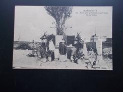 MAROC  1912  Messe Après La Bénédiction Des Tombes De Nos Soldats - Guerres - Autres