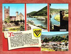 Neckarsteinach, 4 Bilder, 1 Textfeld, Ungebraucht, Nicht Gelaufen (35041) - Deutschland