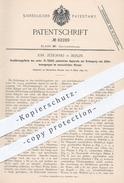Original Patent - Joh. Jeziorski , Berlin , 1894 , Erzeugung Von Zitterbewegungen Im Menschl. Körper   Arzt , Medizin !! - Historische Dokumente