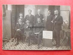LYON CHAMPIONNAT DE FRANCE JEU DE DAMES 1910 CARTE PHOTO - Cartes Postales
