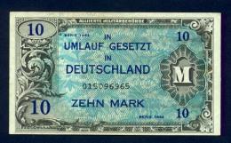 Banconota Germania 10 Mark 1944 FDS - To Identify