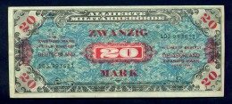 Banconota Germania 20 Mark 1944 FDS - To Identify