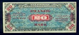 Banconota Germania 20 Mark 1944 FDS - Germany