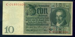 Banconota Germania 10 Reichsmark 22/1/1929 FDS - To Identify