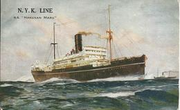 N.Y.K Line,S.S. ''Hakusan Maru'' - Passagiersschepen