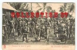 CANAQUES De NOUVELLE CALEDONIE En TENUE De GUERRE - Océanie