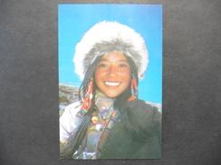 Carte Postale Neuve  :Tibet :Lhasa ,Tibet 3600 M:People From Tibet ,Lhasa - Tibet