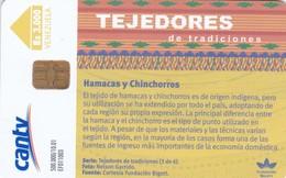 Venezuela, CAN2-0721, Hamacas Y Chinchoros  (3/6), 2 Scans. - Venezuela