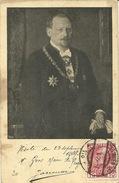 Tchèque Československa Republika Viste Du 23 Septemebre 1909 Mr Gros Maire De Prague Praha  Jarousse Maire De Vanv - Tschechische Republik