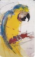 TARJETA DE VENEZUELA DE UN LORO (BIRD-PAJARO-PARROT) - Loros