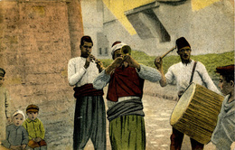 GREECE - SALONIKA - STROLLING MUSICIANS - Grecia