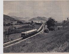 1962  --  ISERE 38 --   L AUTORAIL 1890 PASSE AU COL DU FAU    3C.017 - Collections