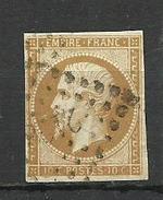 France  1853 Mino.12 Canc. - Service