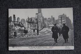 LILLE - 1914, Rue Faidherbe Après Le Bombardement. - Lille