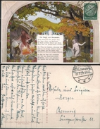 RheinlandPfalz - Bad Neuenahr - Sagenwandgemälde   Gelaufen 1935 - Bad Neuenahr-Ahrweiler