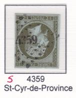 PC 4359 (signe) Sur 11 - St-Cyr-de-Provence (78 Var)