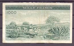Guinea Guinée  1000 Fr 1960  VF - Billets