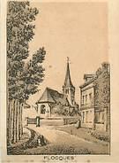 PIE-T-17-84 : IMAGE LITHOGRAPHIQUE  FIN XIX° FLOCQUES. SEINE-MARITIME - Vieux Papiers