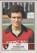 Panini Football Voetbal 82 1982 FC Beringen Autocollant Sticker Nr. 66 Guy Francois - Sports