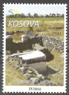 Kosovo 2016 Archeology, Ulpiana, Ancient Rome, Definitive Stamp, Reprint Mi. Nr.194 MNH - Archaeology