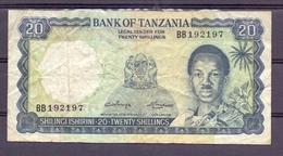 Tanzania 20  Shillings Fine - Billets