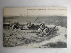 MILITARIA - L'infanterie En Manoeuvres - Groupement De Tromblons - Maniobras