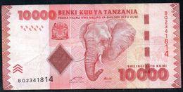 Tanzania 10000 Shilingi ND 2011 VG-F - Tanzania