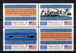 1983 - PALAU -  Catg.. Mi. 1/4 -  NH - (I-SRA3207.32) - Palau