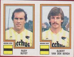 Panini Football Belgique Belgie 84 1984 Koninklijke Berchem Sport KBS Sticker Nr. 361 Rudy Buyst Albert Van Den Bergh - Sports