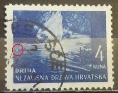 LANDSCAPES-DRINA-ERROR-CIRCLE-POSTMARK-BELIŠCE-NDH-CROATIA-1941 - Croatia