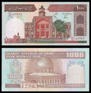 MARKAZI Bank 1000 RIALS Sign 25 ND (1982-02) P 138f UNC - Iran