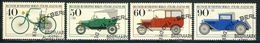 """1982 Berlin Complete VF Used Set Of 4 Semi Postal Stamps """" Ancient Cars"""", Michel # 660-663 With First Day Cancels - [5] Berlin"""