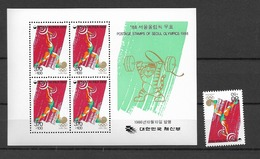 1986 MNH South Korea Olympic Games, Postfris**