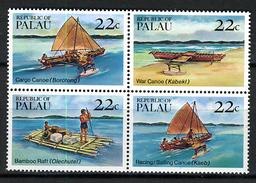 1985 - PALAU -  Catg.. Mi. 70/73 -  NH - (I-SRA3207.31)