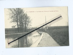 CPA - Pantin - Le Canal De L'Ourcq à L'entrée De Paris - Pantin