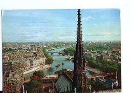 """S2736 POSTCARD: [75] Paris > Notre Dame De Paris, Panorama Sur La Seine - """" Couleurs Et Lumiere De France"""" Series - Notre Dame De Paris"""