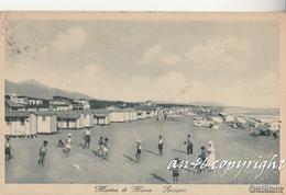 """MARINA Di MASSA_Spiaggia_Timbro_Colonia Marina """"L.Cadorna""""della CROCE ROSSA ITALIANA_Vg 20/7/1909-ORIGINALE100%_2 Scann- - Massa"""