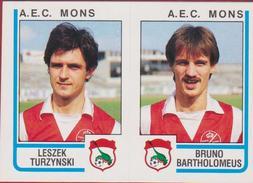 Panini Football Belgie 86 Voetbal 1986 Sticker RAEC Mons Nr. 429 Leszek Turzynski Poland Polska Bruno Bartholomeus - Sports