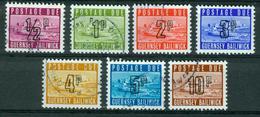 BM Guernsey Portomarken 1971 - MiNr 8-14 - Used - Schloss Cornet - Guernsey