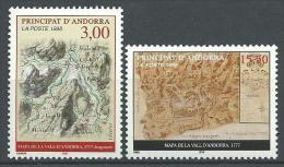 "Andorre YT 508 & 509 "" Cartes Du Principat "" 1998 Neuf** - Neufs"