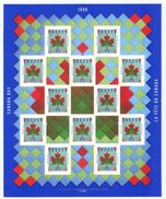Canada Stamp Day 1607a Sheet Mnh 1996