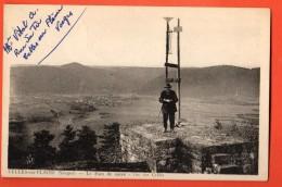IAG-08  Celles-sur-Plaine Le Pain De Sucre, Vue Sur CElles. ANIME. Antennes. Circulé Sous Enveloppe En 1953 - France