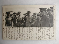 MILITARIA - Le Salut Du Général Pershing, Commandant En Chef Des Troupes Américaines à La Terre De France - Juin 1917 - Characters