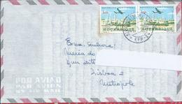 Stamps Sonarep Oil Refinery.Letter Colonial War Mozambique.Military Postal Service 'SPM 6574'.EPM 24 Obliteration 1966
