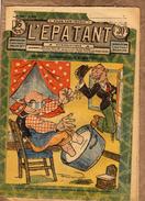 13e Année N° 639 - L'Epatant - L. Forton - Bébert - Caramel - Achille Costaud - 1900 - 1949