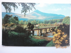 Postcard Goatfell From Brodick Isle Of Arran My Ref B1697 - Ayrshire