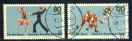 "1983 Berlin VF Used Complete Set Of 2 Semi Postal Stamps ""Dancing & Ice Hockey"", Michel # 698-699 - [5] Berlin"